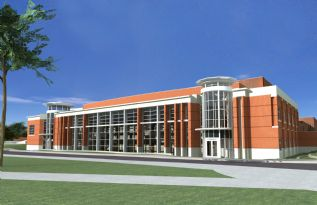 west wing-looking north PAC Rendering.jpg
