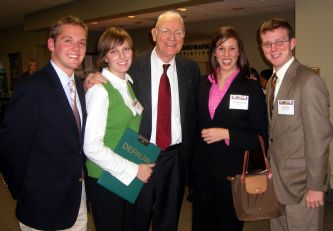 Lee Hamilton Students 2006.jpg