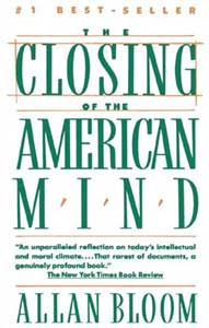 allan bloom closing of the american mind