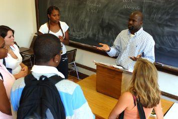 Matthew Oware with Students.jpg