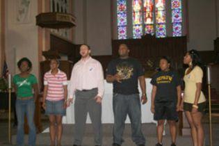 DePauw Gospel Choir April 2008.jpg