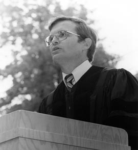 Phil Sharp 1986 Commencement.jpg