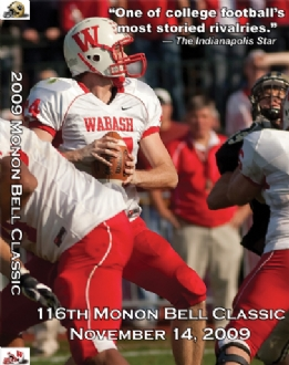 2009 Monon Bell DVD Jacket Front