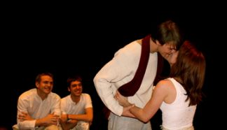 Twelfth Night 2009 kissing.jpg