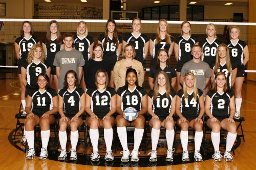 pics of volleyball. DPU Volleyball Team 2008.jpg