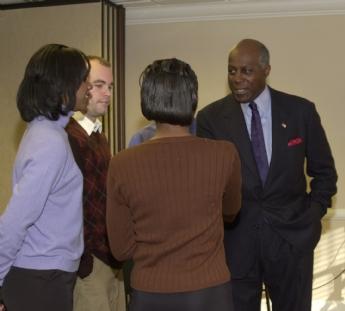 Vernon Jordan 2001 students